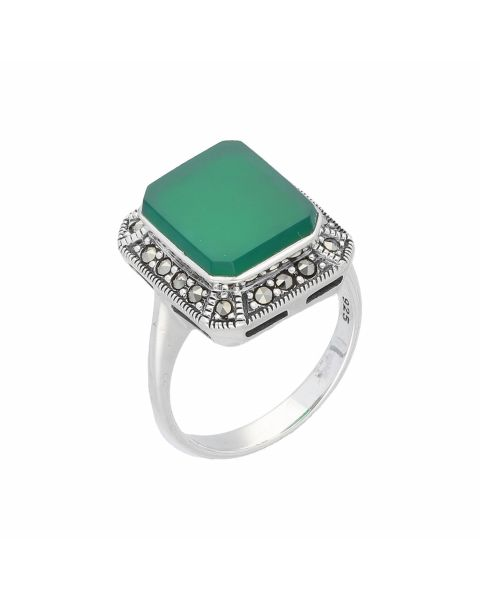 Ring Silber 925 Achat Markasite